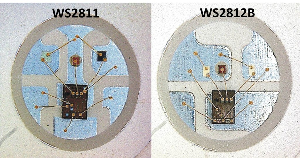 WS2811vsWS2812b