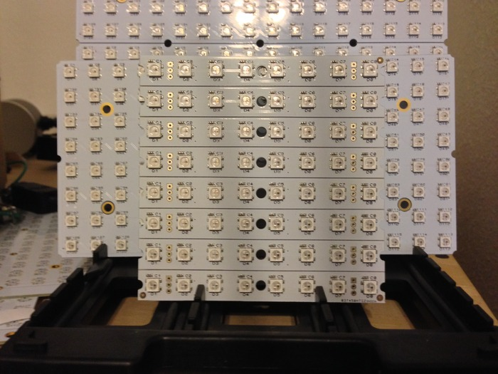 Assembed 1x8 Matrices