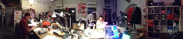 NYCR Pano of the Space