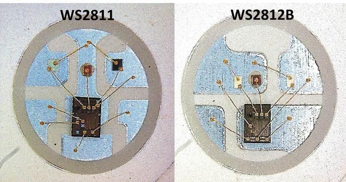 WS2811 vs 2812
